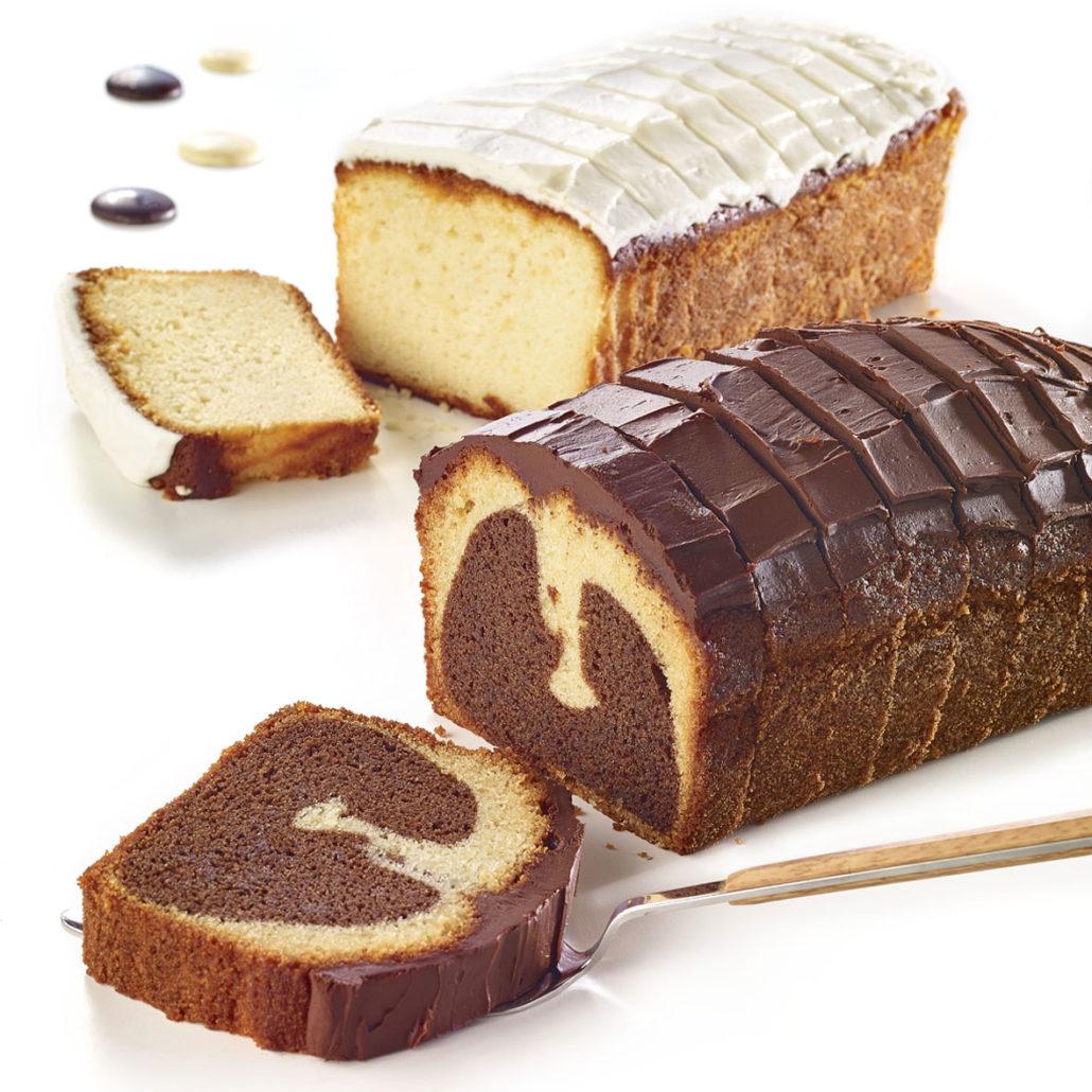 Cakes tranchés à partager