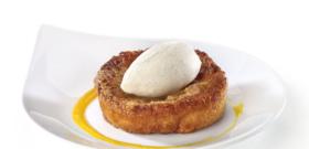 Crème glacée fleur d'oranger pavot