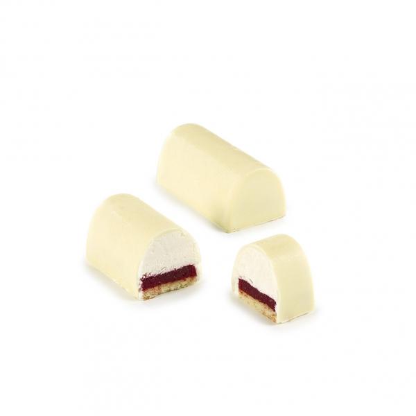 Bûchette vanille et fruits rouges
