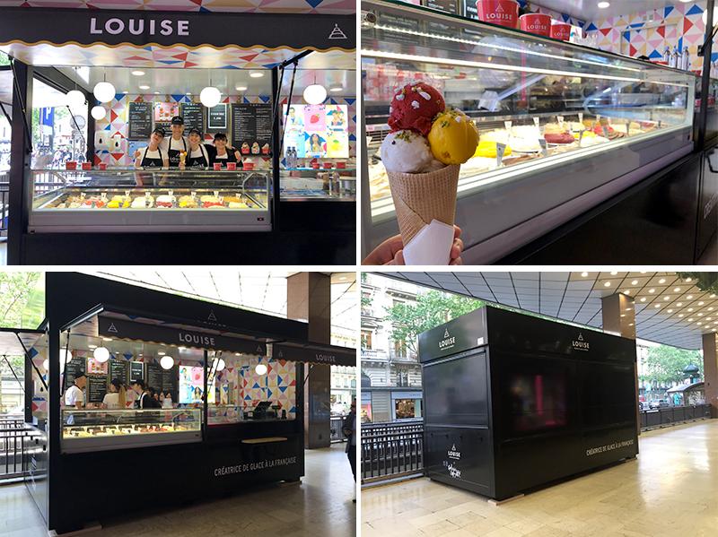 """Ouverture du 1er Louise """"Nouvelle génération"""" devant les Galeries Lafayette"""