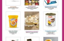 Spécial glaces & desserts – été 2018