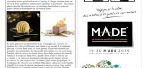 La Compagnie des Desserts dévoile ses innovations pour les fêtes de fin d'année