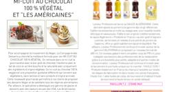 """MI-CUIT AU CHOCOLAT 100 % VÉGÉTAL ET """"LES AMÉRICAINES"""""""