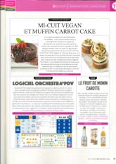 Mi-cuit vegan et Muffin Carrot Cake