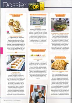 Snacking d'or 2018 – Dessert d'assemblage