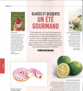 Glaces et desserts : un été gourmand