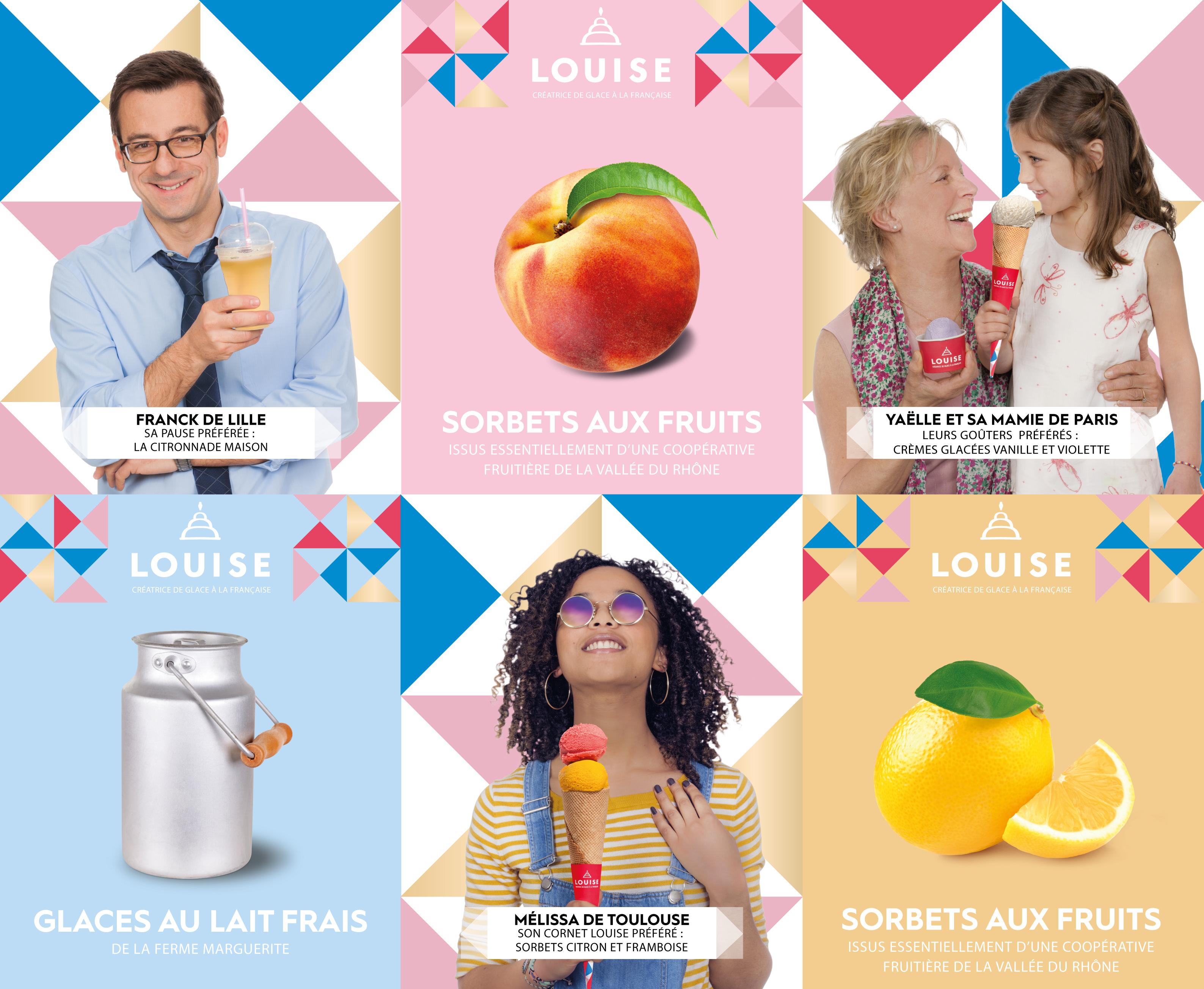 Ce week-end, Louise ouvrira deux nouveaux glaciers à Paris et Toulouse