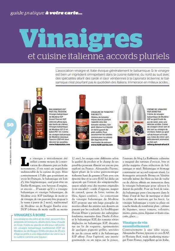 Betterave au vinaigre balsamique Par la Compagnie des Desserts
