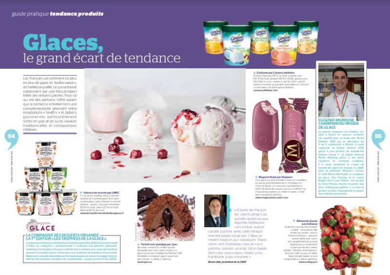 La Compagnie des Desserts organise la 1ère édition des Trophées de la Glace