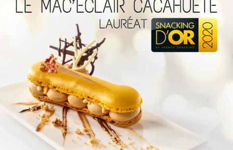 La Compagnie des Desserts lauréate aux Snacking d'Or 2020