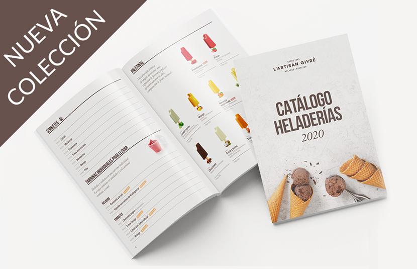 ¡Nuevo catálogo Heladerías 2020!