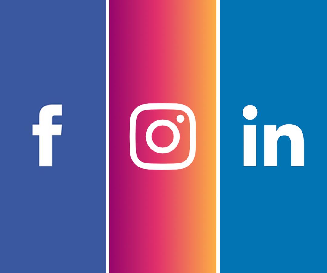 ¡Síganos en nuestras redes sociales!