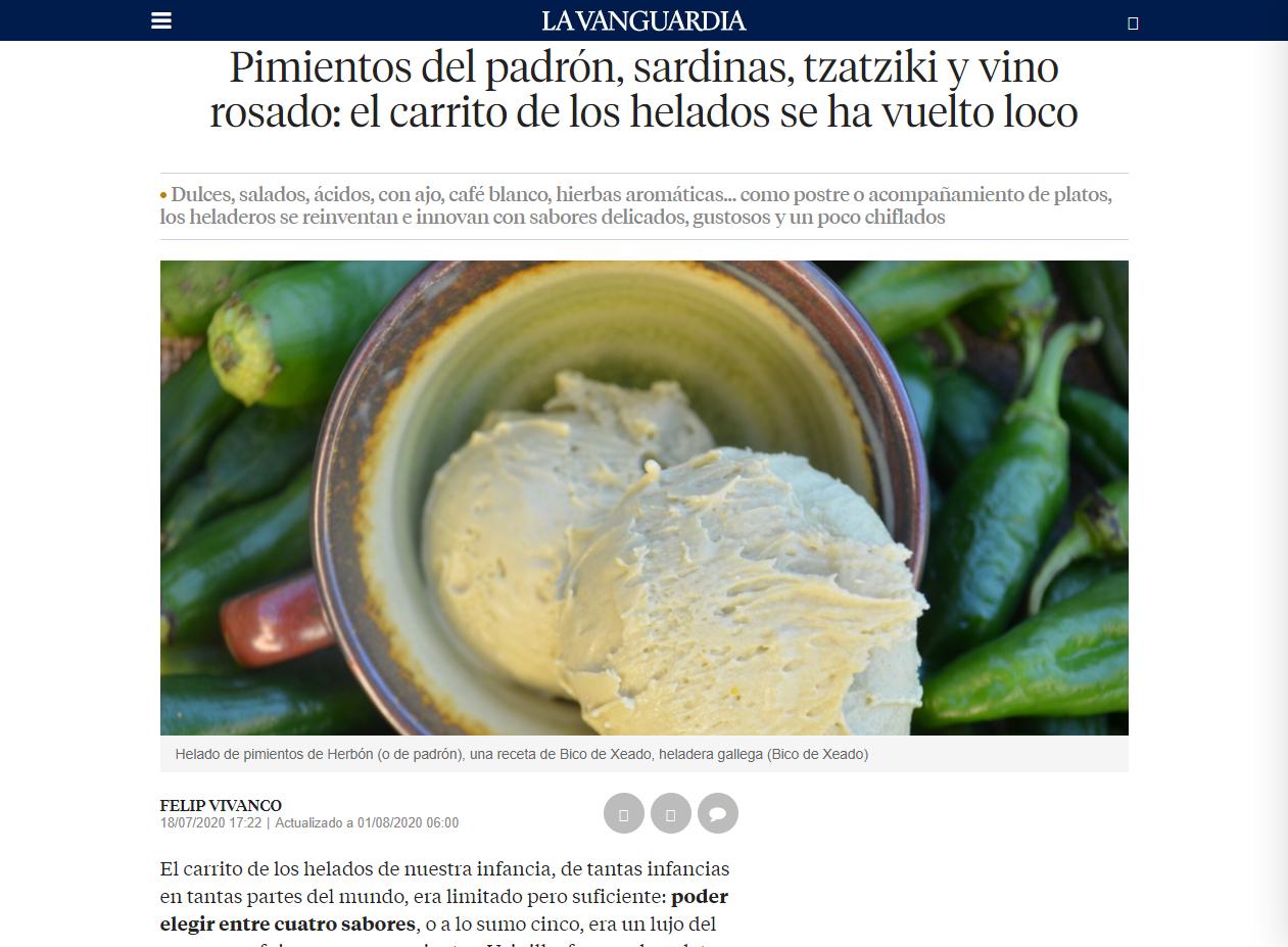 PIMIENTOS DEL PADRÓN, SARDINAS, TZATZIKI Y VINO ROSADO: EL CARRITO DE LOS HELADOS SE HA VUELTO LOCO