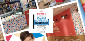 Louise élue meilleure enseigne 2021