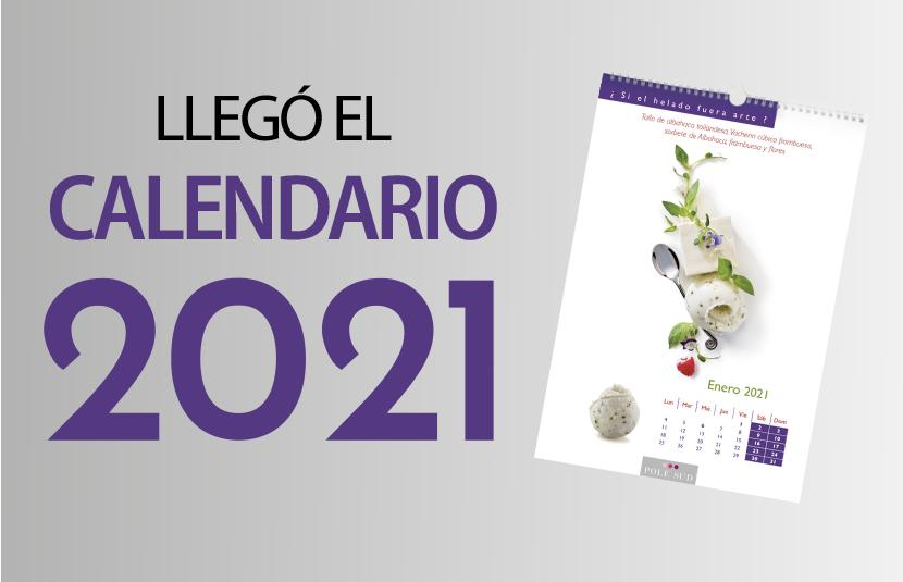 Llegó Calendario 2021