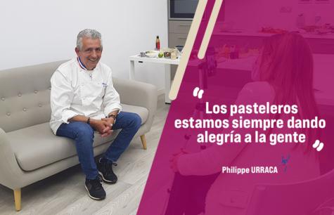 Entrevista a Philippe Urraca, chef Mof pastelero y Director Técnico La Compagnie des Desse...